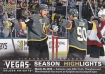 2017-18 Upper Deck Vegas Golden Knights Inaugural #47 Clinched Playoffs SH