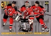 1996-97 Collector's Choice #322 Brodeur Stevens Thomas