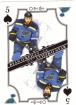 2019-20 O-Pee-Chee Playing Cards #5S Ryan O'Reilly