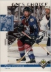 1998-99 UD Choice #229 Peter Forsberg GM
