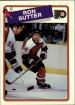 1988-89 O-Pee-Chee #126 Ron Sutter