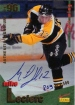 1995-96 Brandon Wheat Kings #13 Mike LeClerc podepsaná karta