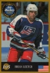 1995 Finnish Semic World Championships #105 Brian Leetch