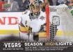 2017-18 Upper Deck Vegas Golden Knights Inaugural #49 First Round Sweep SH