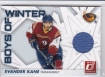 2010-11 Donruss Boys of Winter Threads #3 Evander Kane