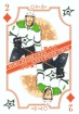 2019-20 O-Pee-Chee Playing Cards #2D Miro Heiskanen