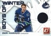 2010-11 Donruss Boys of Winter Threads #28 Dan Hamhuis