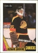 1987-88 O-Pee-Chee #257 Richard Brodeur UER / (Photo actually/Frank Caprice)