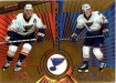 1997-98 Pacific Dynagon #143 Jim Campbell/Brett Hull
