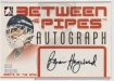 2006-07 Between The Pipes Autographs #ABH Brian Hayward