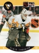 1990-91 Pro Set #230 Alain Chevrier UER/(Chicago and Pittsburgh/stats not separate)