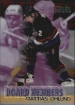 1998-99 O-Pee-Chee Chrome Board Members #B5 Mattias Ohlund