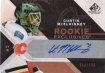 2007-08 SP Game Used Rookie Exclusives Autographs #RECM Curtis McElhinney
