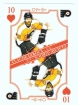2019-20 O-Pee-Chee Playing Cards #10H Claude Giroux