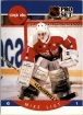 1990-91 Pro Set #316 Mike Liut UER/(Capitals and Whalers/stats not separate)