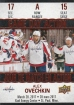 2017-18 Upper Deck Tim Hortons Game Day Action #GDA15 Alex Ovechkin