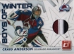 2010/2011 Donruss Boys of Winter Threads Prime / Craig Anderson