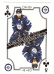2019-20 O-Pee-Chee Playing Cards #8C Blake Wheeler