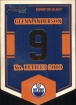 2012-13 Classics Signatures Banner Numbers #32 Glenn Anderson