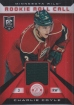 2013-14 Totally Certified Rookie Roll Call Jerseys Red #RRCOY Charlie Coyle