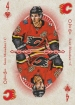 2018-19 O-Pee-Chee Playing Cards #4HEARTS Sean Monahan