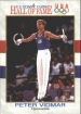 1991 Impel U.S. Olympic Hall of Fame #84 Peter Vidmar