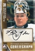 2013-14 Between the Pipes Autographs #ABL Blaine Lacher