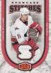2006-07 Flair Showcase Stitches #SSJW Justin Williams