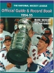 Official Guide Record Book NHL 1994-95