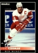 1992-93 Pinnacle #350 Steve Yzerman