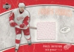 2005-06 Upper Deck Ice Frozen Fabrics #FFPD Pavel Datsyuk