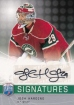 2008-09 Be A Player Signatures #SJH Josh Harding