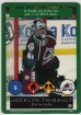 1995-96 Playoff One on One #29 Jocelyn Thibault