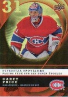 2008-09 McDonald's Upper Deck Superstar Spotlight #IS1 Carey Price