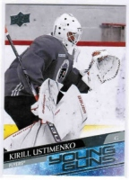 2020-21 Upper Deck #245 Kirill Ustimenko RC