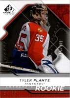 2008-09 SP Game Used #190 Tyler Plante RC