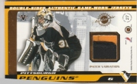 2001-02 Vanguard Patches #27 Martin Straka / Rich Parent