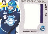 2005-06 ITG Heroes and Prospects Jerseys #GUJ78 Alexandre Vincent