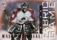 1997-98 Donruss Limited Fabric of the Game #47 Marc Denis M