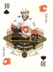 2020-21 O-Pee-Chee Playing Cards #10SPADES Johnny Gaudreau