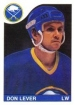 1985-86 O-Pee-Chee #238 Don Lever