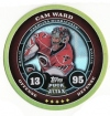 2009/2010 Topps Puck Attax Gold Foil / Cam Ward