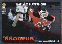 1995-96 Collector's Choice Player's Club #204 Martin Brodeur