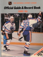 NHL Official Guide & Record Book 1985-86